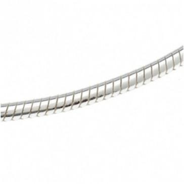 Serpente 1,8mm 50cm argento