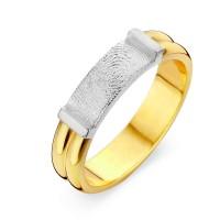 Forever oro bianco/giallo