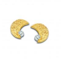 Moon brillanti oro giallo/giallo