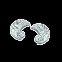 Moon zirconia argento